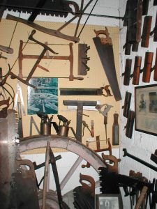 Part of the wheelwright display