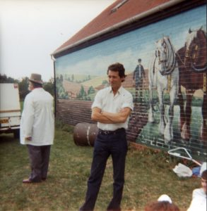 The New Museum with mural 1980