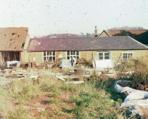 Old Museum at Hall Farm in 1970s