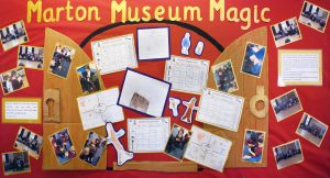 Display of Children's stories based on Marton Museum